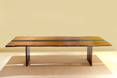Photo - Residential - Freestanding - Dining - Grain Timber Furniture - The Twins