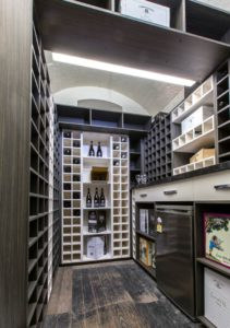 SQUIZZY WINE CELLAR by MARY MAKSEMOS AND CLAYTONS KITCHENS